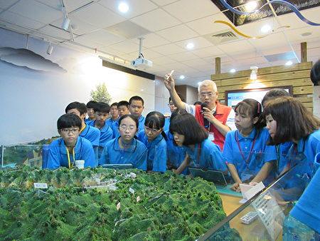 北埔国中在宝二水库环境教育推广活动。