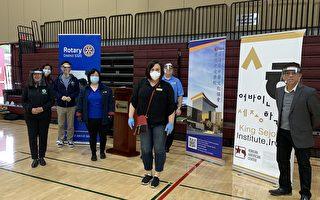 南海岸中心提供体育馆 制作面罩捐医护人员