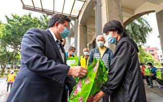 桃园对街友关怀照顾不中断 发送防疫关怀物资