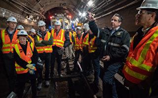 纽约地铁L线维修工程  提前三个月完工