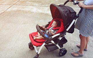 嬰兒車座椅過低或增加兒童所受空氣污染