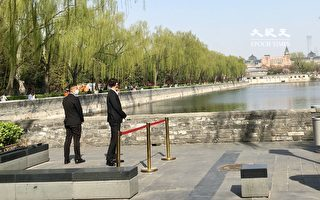 組圖:疫情下的清明節 北京祭壇警察密布