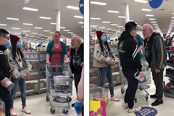 华人男女大闹澳洲超市 为奶粉欲殴老人