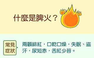 什麼是脾火?(中醫知識Cool)