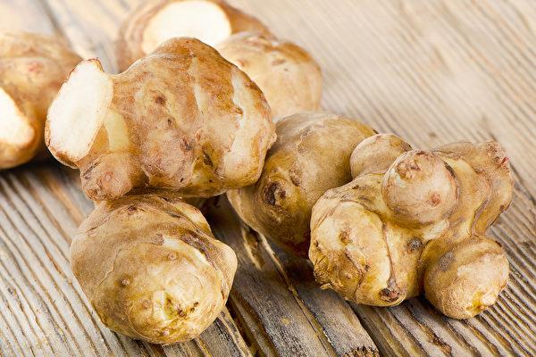 菊芋含有丰富的菊糖,非常适合当作益菌生的食物。(Shutterstock)