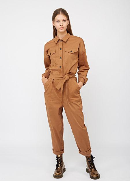 连身裤装,衣服,俐落打扮