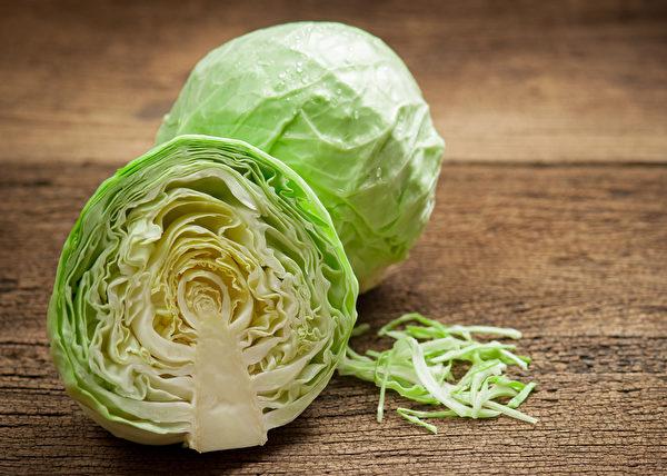 高丽菜有异硫氰酸酯、过氧化酶等有效抑制癌症的成分。(Shutterstock)