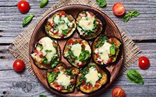 动手做料理 度过孩子停课期 (3):迷你茄子披萨