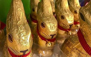 疫情下宽慰孩子心 复活节兔子上门送巧克力