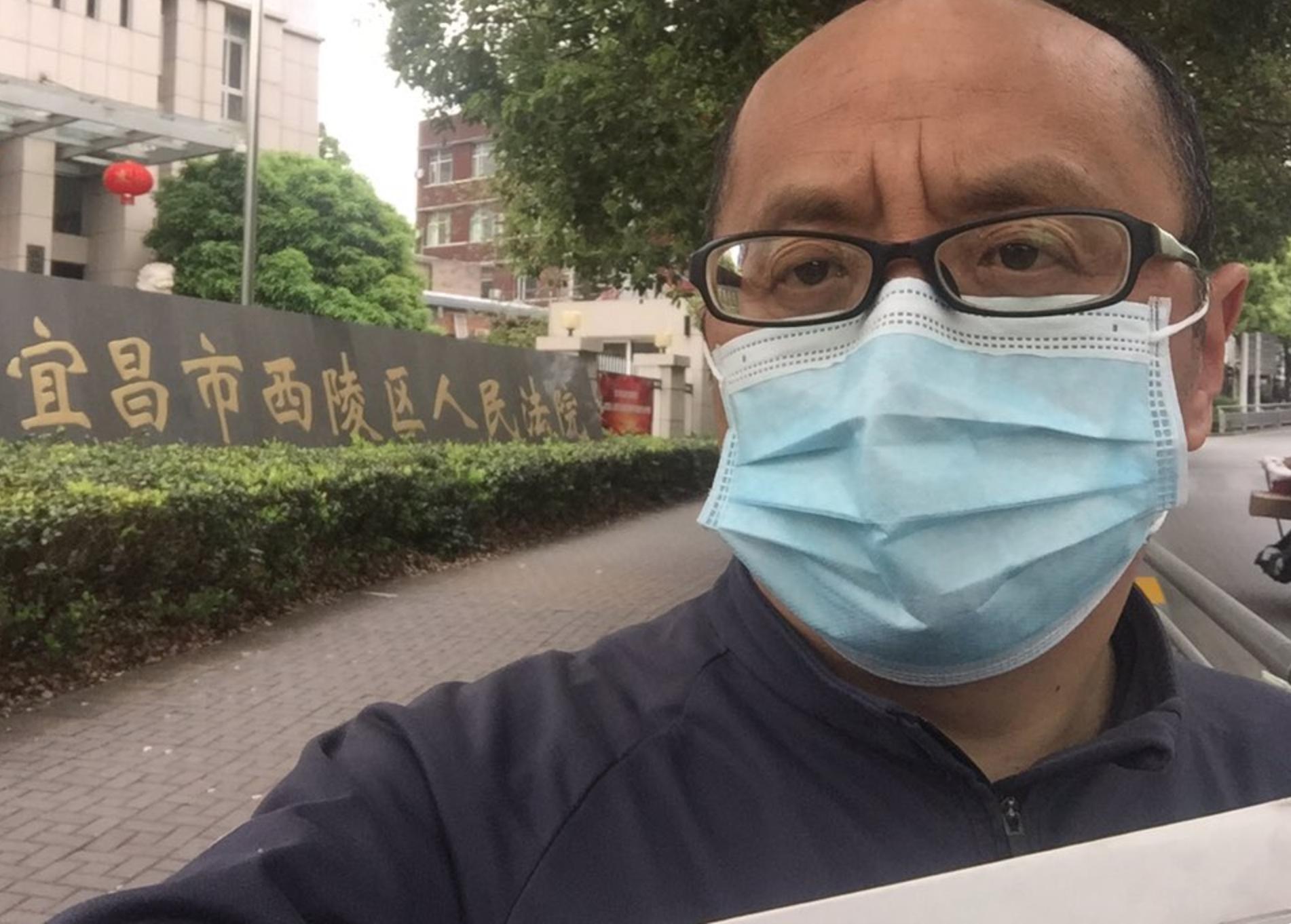 【一線採訪影片版】湖北公務員起訴政府隱瞞疫情