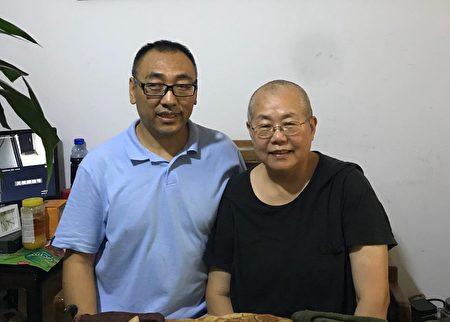 2017年秋天,趙中元醫生與王荔蕻女士。(趙中元提供)