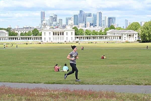 英國倫敦的格林威治公園。(Glyn KIRK/AFP)