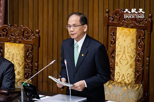 民進黨創黨35年 游錫堃:台灣應關注中國民主