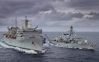 警告中共北极野心 美英军舰艇巴伦支海军演