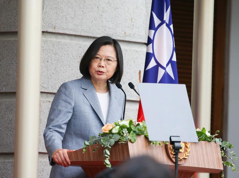蔡英文:台灣不會坐視自由人權在香港倒退