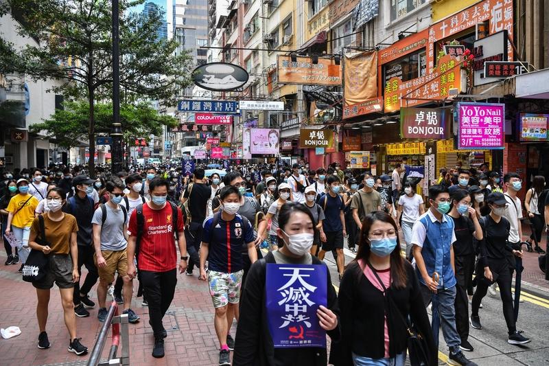 廖遠:反香港版《國安法》與躲避瘟疫