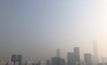 2020年5月1日,北京的陰霾天嚴重。(網絡圖片)