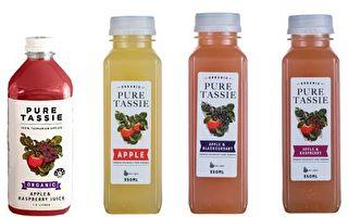 多款果汁恐受真菌污染 澳各超市緊急召回