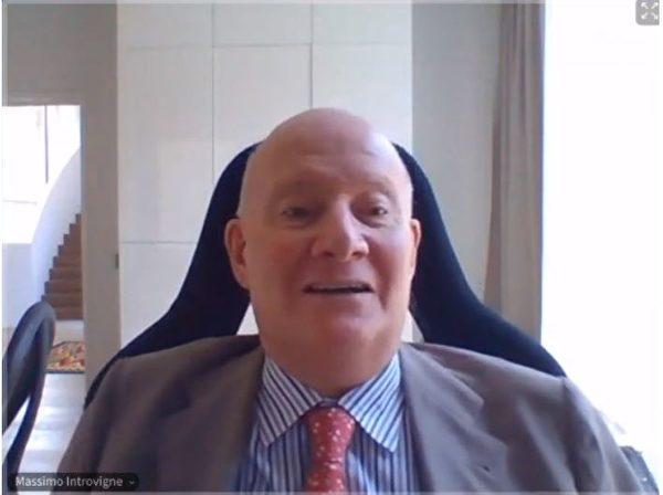 宗教社會學家,東亞宗教專家,也是《Bitter Winter》 雜誌社經理的安托維尼(INTROVIGNE)先生。(明慧網)