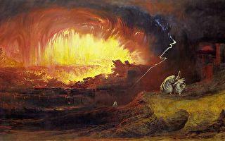 """毁于天火的""""罪恶之城""""索多玛"""