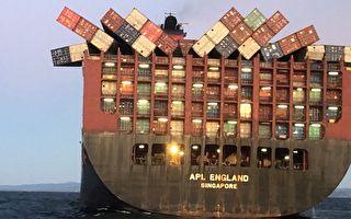 40中國貨櫃墜海 大量口罩被沖上悉尼海灘