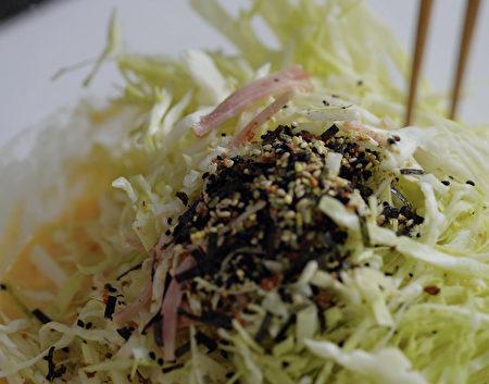 大阪燒,關西美食,平民美食,C2食光,燒烤,高麗菜