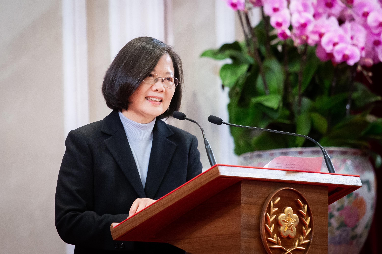 台灣總統蔡英文發表連任的就職演說前,中共四處打探消息。(陳柏州/大紀元)
