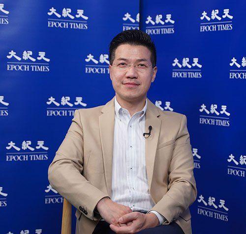 香港前立法會議員、現任西貢區議會議員范國威。(大紀元)