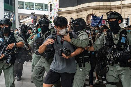 """白宫发言人麦肯阿尼表示,美国总统川普认为,如果中共执行""""港版国安法"""",香港将失去亚洲金融中心地位。"""