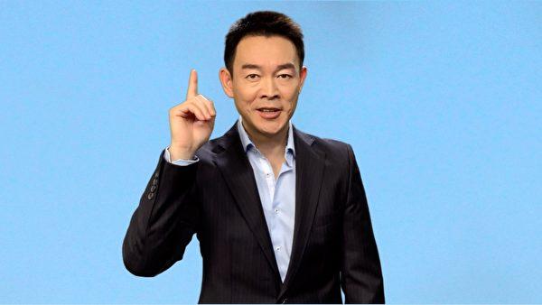 新世紀主要演員姜光宇表演台詞獨白「人生的七個階段」。(新世紀影視提供)