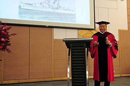 旺宏電子創辦人吳敏求專題演講:「我的奮鬥史」。