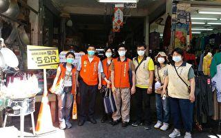 五一連續假期  防疫宣導包括民眾及攤商