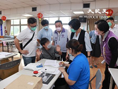 彰化縣長王惠美了解紓困作業。