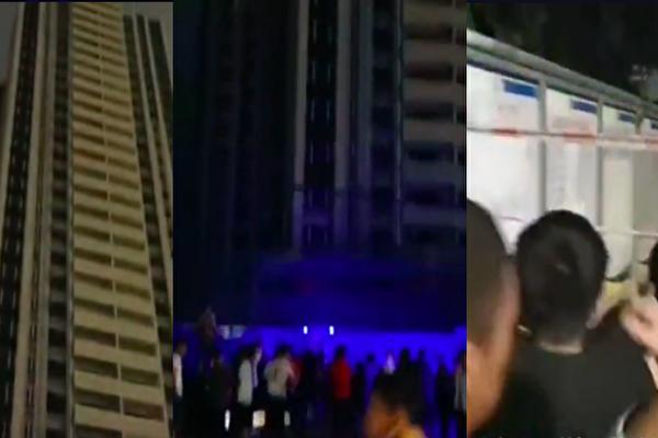 广西玉林一工地电梯坠落 致6死