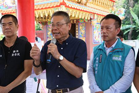 水上鄉長劉敬祥也大力讚譽,縣府上下齊心發揮團隊力量,帶動百年建設,創造就業機會,水上發展,從現在開始。