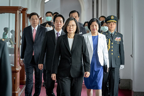 中華民國第15任總統蔡英文、副總統賴清德20日宣誓就職典禮。(總統府提供)