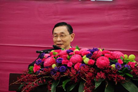 旺宏電子總經理盧志遠致詞