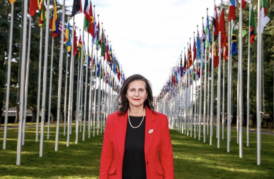澳洲自由黨聯邦參議員韋爾斯(Concetta Fierravanti-Wells)。(韋爾斯面書)
