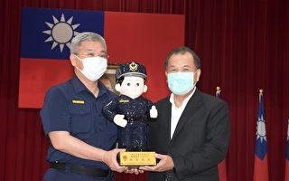 """""""二亿""""企业捐赠反光背心 彰县警察节最佳礼物"""