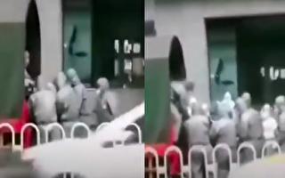 【現場視頻】醫護從武漢一酒店抬出多名患者