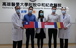 守住防疫战 高医外籍医师赞:台湾很安全