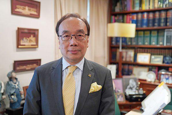香港公民黨主席、資深大律師梁家傑。(大紀元)