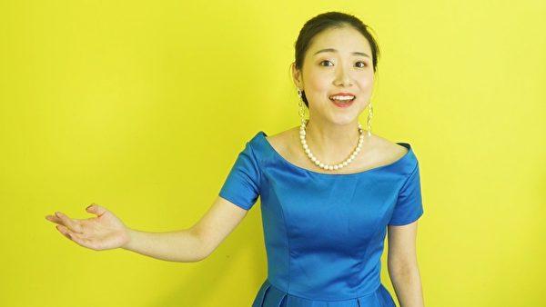 新世紀影視513慶祝活動劇照——女聲獨唱《梅花》。(新世紀影視提供)