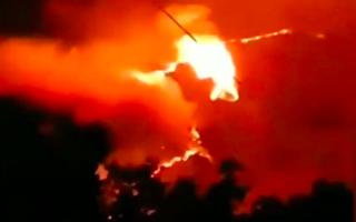【现场视频】四川凉山现森林大火 蔓延多个山头