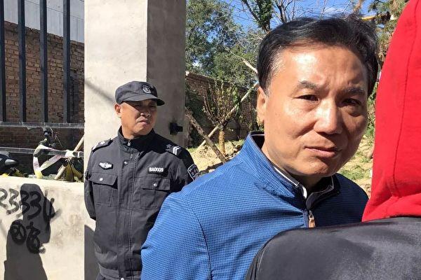 民企匯英豪商貿有限公司遭北京政府幾次強拆,損失慘重。公司負責人郭坤鵬奔走維權一年多無果。(受訪人供圖)