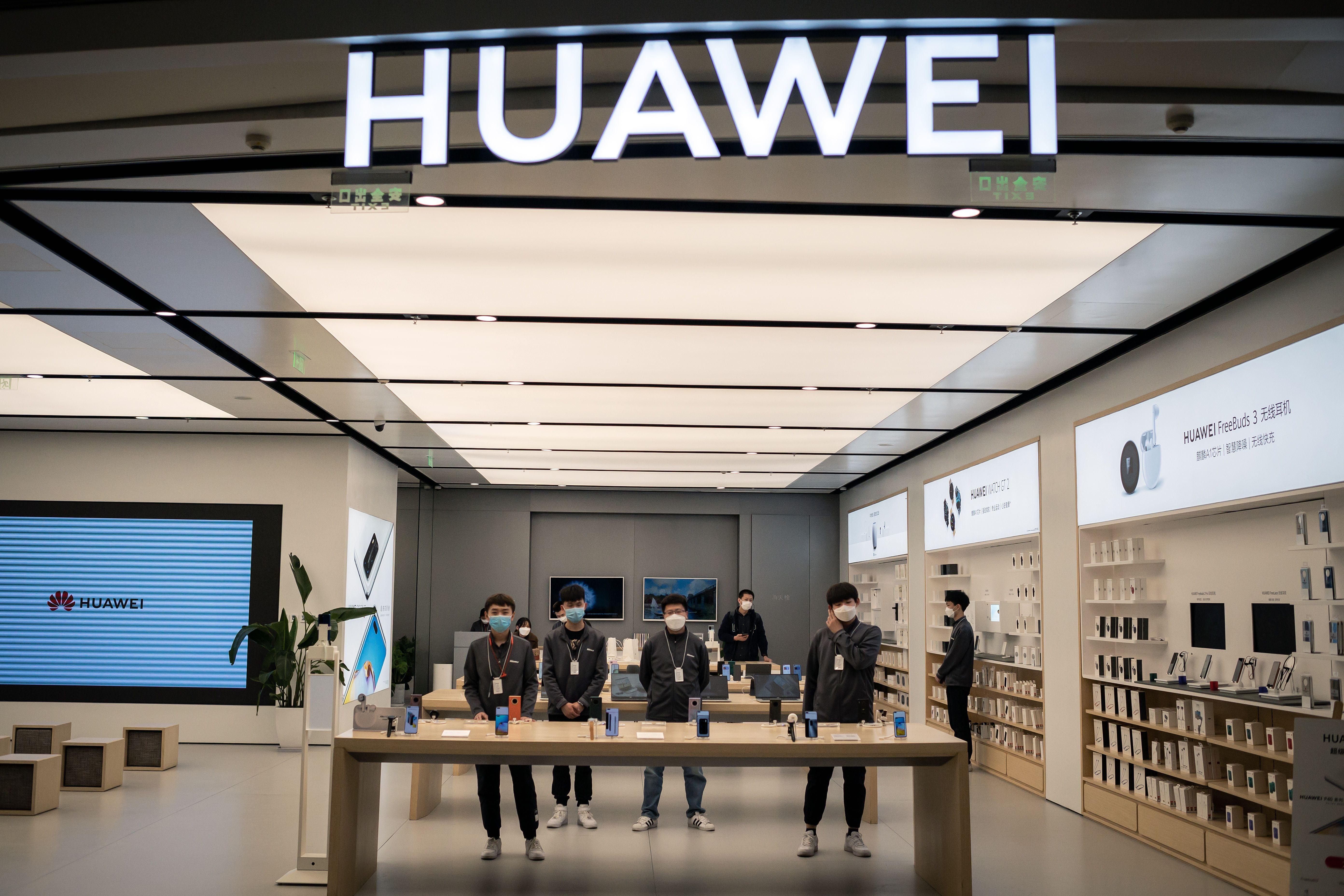 美國商務部花1年的時間研擬新規定,影響將擴及整個半導體供應鏈,預期華為將難以找到合作廠商。(NICOLAS ASFOURI/AFP via Getty Images)