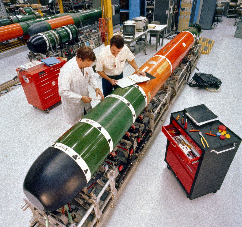 美國冷戰武器今派用場 Mk 48重型魚雷