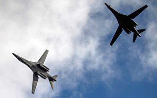 美B-1B轰炸机5月已7度巡弋西太平洋