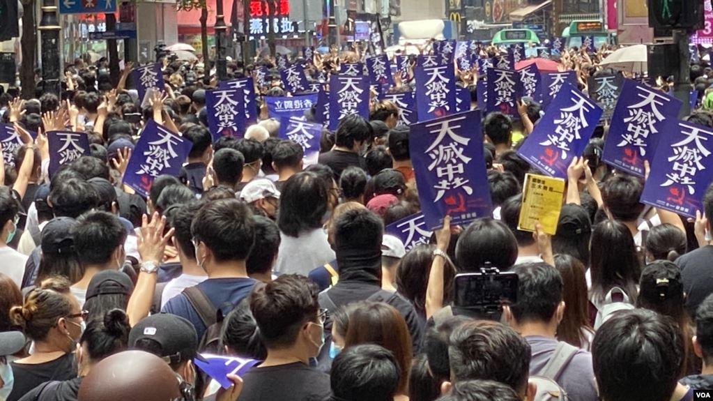 【新聞看點】逾萬港人抗議國安法 北京在豪賭?