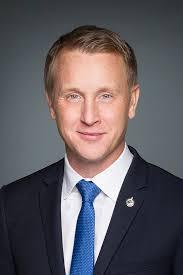 Grande Prairie-Mackenzie國會議員Chris Warkentin